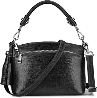 Small Genuine Leather Handbags for Women Shoulder Bag Crossbody Purse