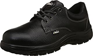 E-Volt Oxy Safety Shoe 82222, ISI Marked for IS 15298 Pt-2, Steel Toe Cap for 200 Joules, Size 6