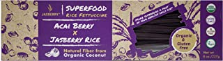 Jasberry Organic Rice Fettuccine With Acai Berry, 227 gm