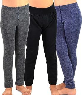 TeeHee (Naartjie) Kids Girls Fleece Inner Brushed Leggings 3 Pack