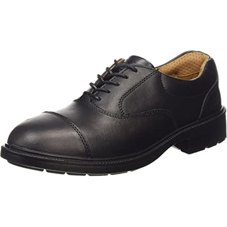 City Knights Men'S Black Safety Boot Ss501Cm 11 UK