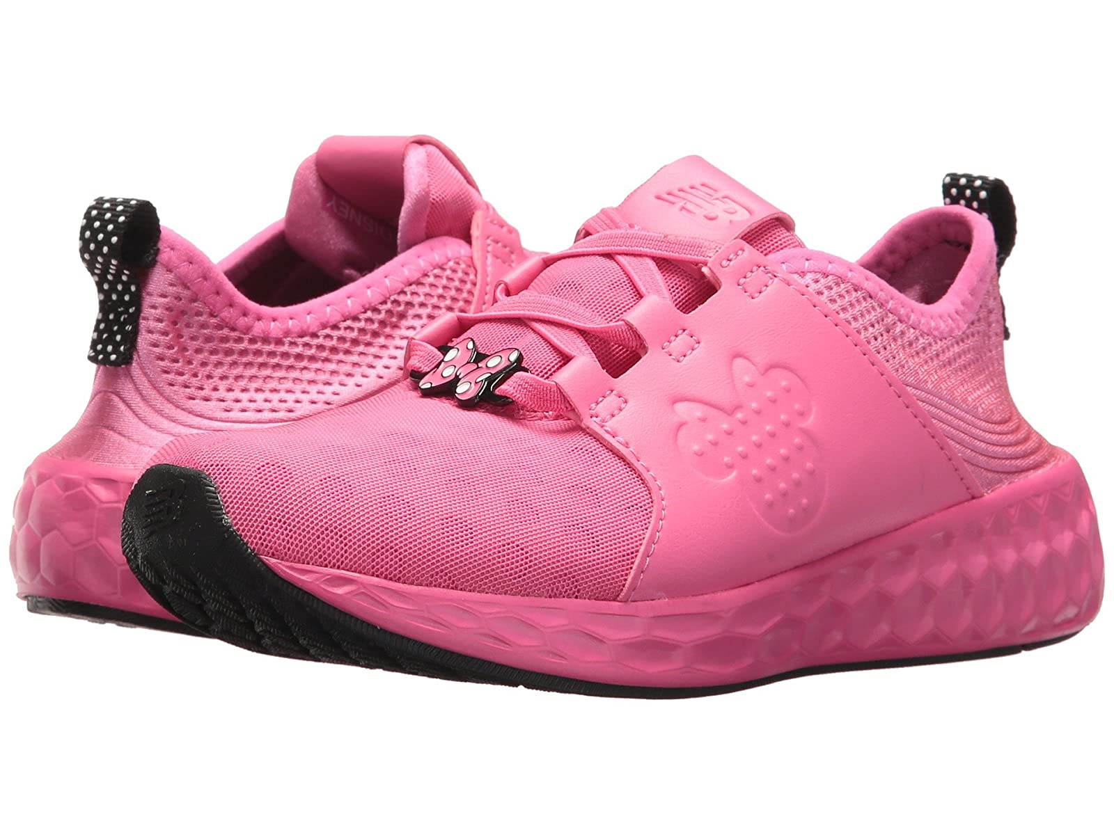 New Balance Kids KVCRZv1P - Minnie Rocks the Dots (Little Kid)Cheap and distinctive eye-catching shoes