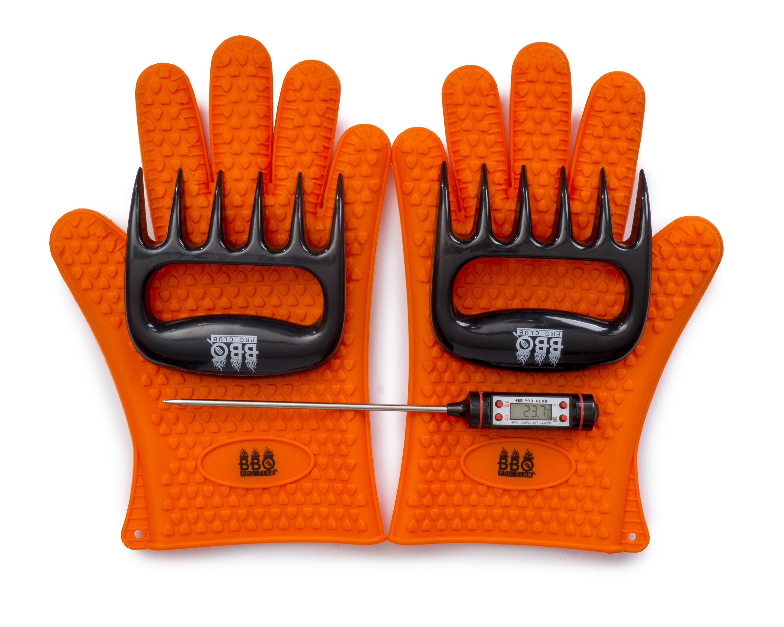 BBQ Gloves Digital Instant Thermometer