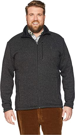 Big &Tall Sweater Fleece Jacket