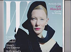 W Magazine (December, 2015/January, 2016) Cate Blanchett Cover