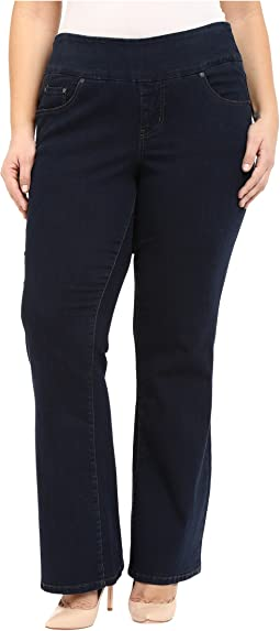 Jag Jeans Plus Size Plus Size Paley Boot in After Midnight Comfort Denim