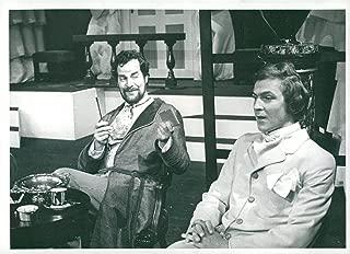 Vintage photo of Ulf Qvarsebo and Carl-Ivar Nilsson in Oscar Wildes