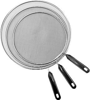 "Splatter Screen for Cooking,Grease Splatter Screens for Fryling Pan Frying Pan Cover Splatter Screen 3 Set(8"",11.5"",13""), ..."