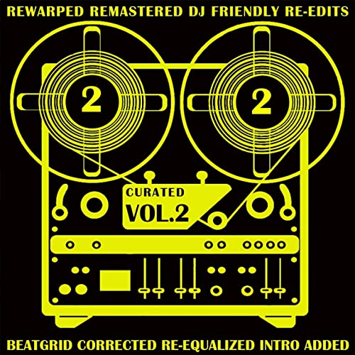 Curated, Vol  2 (Rewarped Remastered DJ Friendly Re-Edits