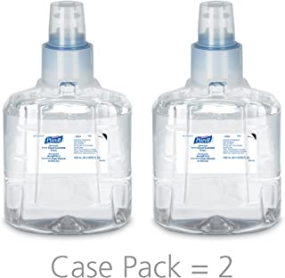 PURELL Advanced Hand Sanitizer Foam, 1200 mL Sanitizer Refill for PURELL LTX-12 Touch-Free Dispenser (Pack of 2) - 1905-02