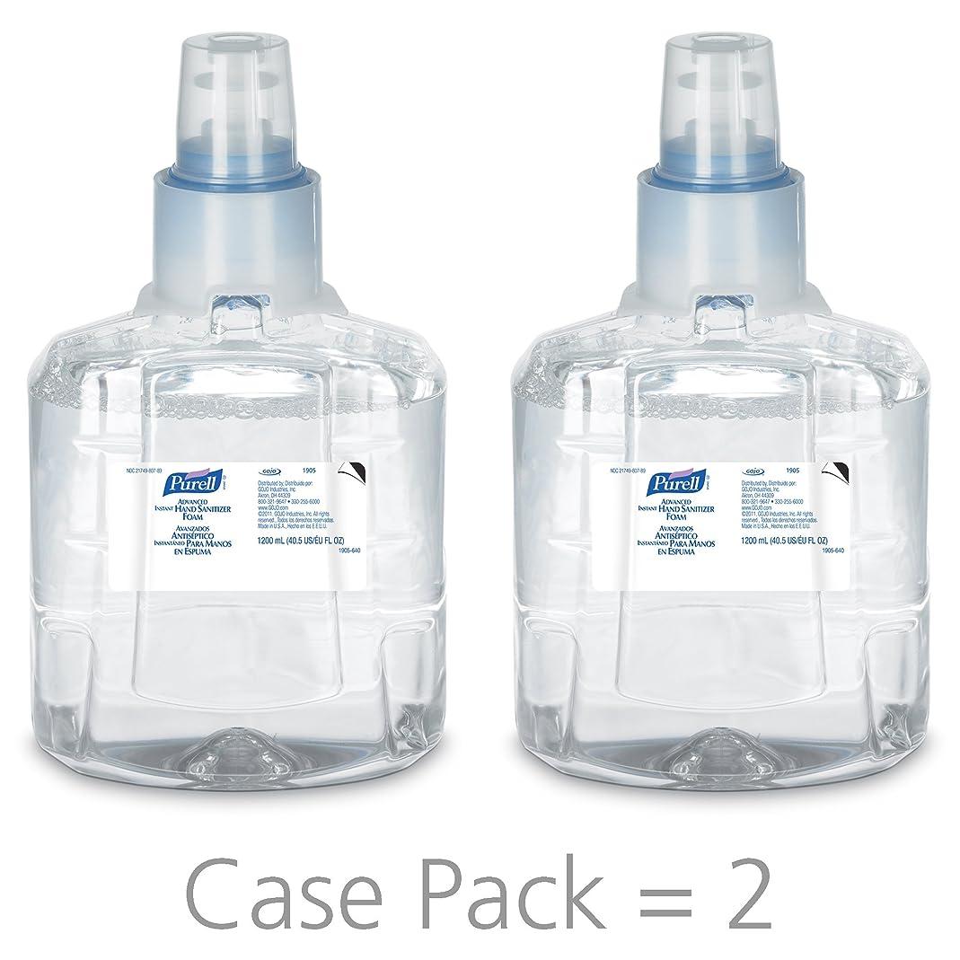 オズワルド平手打ち剣PURELL 1905-02 1200 mL Advanced Hand Sanitizer Foam, LTX-12 Refill (Pack of 2) by Purell