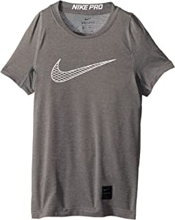 Nike Kids - Pro Fitted Short Sleeve Training Top (Little Kids/Big Kids)