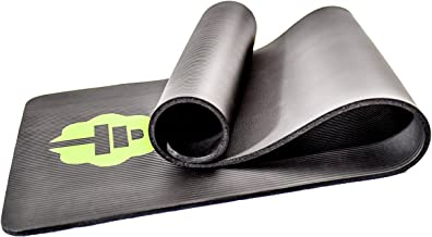 Total Connection Company #1 Exercise Mat, Foam Floor Equipment Ideal for Any Workout. 1/2
