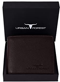 URBAN FOREST Carl Leather Men's Wallet (UBF130CHC1021_Brown)