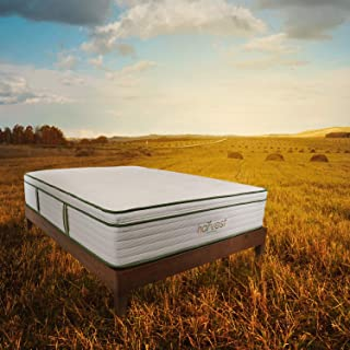Harvest Green Full Pillow Top Mattress | All-Natural, Organic Bed | Healthy, Non Toxic, Chemical Free Sleep Experience