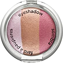 Palladio Cosmetic Baked Eyeshadow Trio, Pink Bliss, 0.09 Ounce