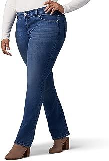 LEE Women's Plus-Size Sculpting Slim Fit Bootcut Jean