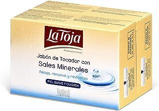 La Toja - Jabón de Manos Hidrotermal - Relaja, renueva y revitaliza con la fragancia exclusiva de La Toja - 5 packs de 2 pastillasx125gr