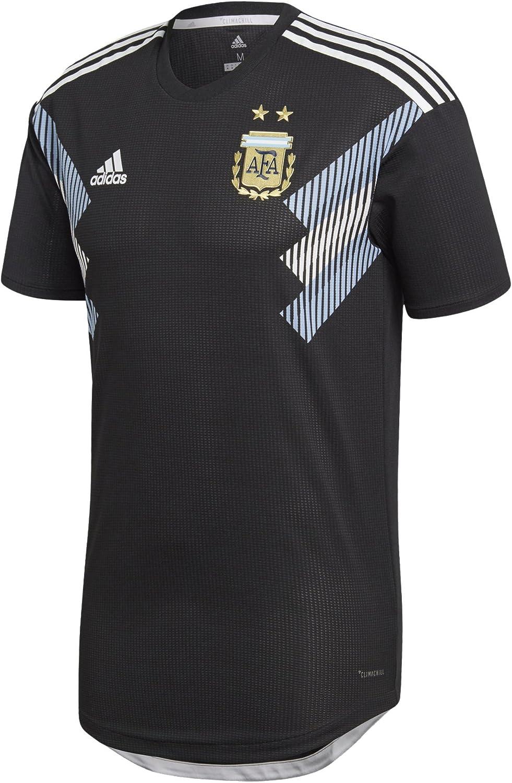 Amazon.com: adidas Argentina Away Authentic Soccer Jersey World ...