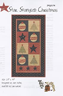 Star Spangled Christmas Quilt Pattern by Jan Patek Quilts Inc. JPQ2174 24