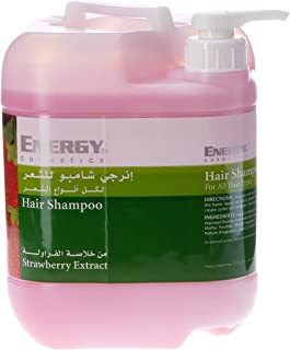 ENERGY COSMETICS Hair Shampoo with Strawberry Extract, 5 Litre