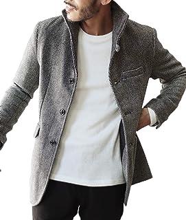 [ジギーズショップ] イタリアン ジャケット メンズ マリンコート ショート丈 アウター 厚手 秋冬 防寒
