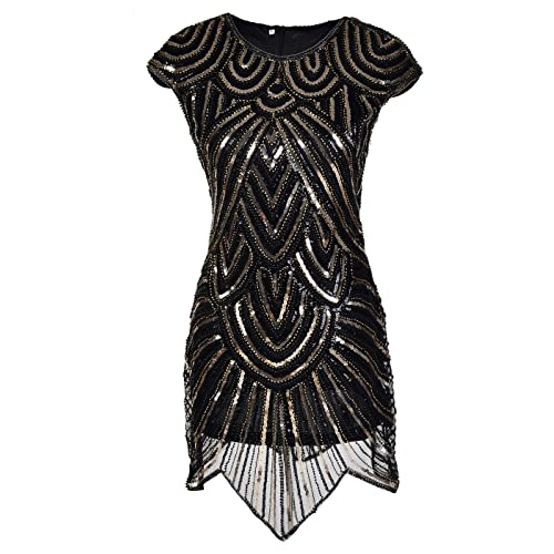 Vaak The Great Gatsby Dresses with Sleeve: Amazon.com #SD95