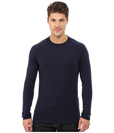 Smartwool NTS Mid 250 Crew Top (Deep Navy) Men
