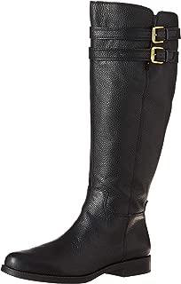 Women's Christoff Equestrian Boot , Black, 6.5 M(Wide Calf)