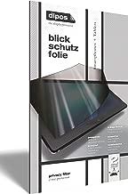 dipos I Protección en 2 sentidos de la Vista Compatible con Winnovo M798 Tablet PC (Formato oblongo) 2 Unidades I Protector de Pantalla Privacy