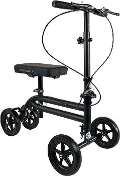 KneeRover Economy Knee Scooter Steerable Knee Walker Crutch