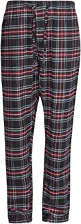 Mens Pyjamas Lounge Pants Cotton Flannel Bottoms Trouser Nightwear PJs Sleepwear Big & Tall Plus Sizes up to 4XL