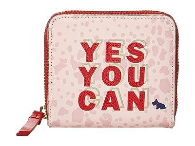 Radley London Motivational Radley Medium Zip Around Purse (Marshmallow) Wallet Handbags