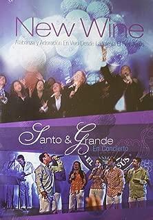 New Wine Alabanza y Adoracion En Vivo Desde La Iglesia El Rey Jesus - Santo & Grande En Concierto