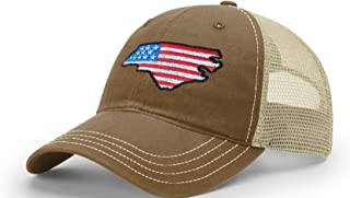 STATEE North Carolina American Flag Relaxed Fit Hat