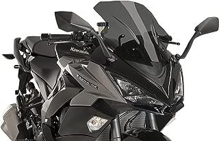 Puig 17-18 Kawasaki ZX1000ABS Racing Windscreen (3mm) (Dark Smoke)