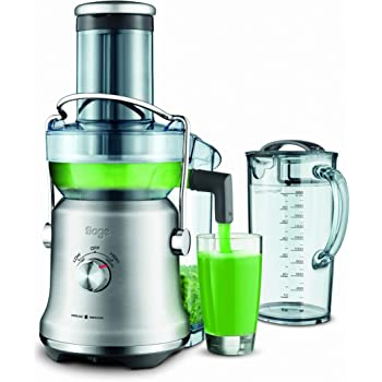 Sage SJE530BSS The Nutri Juicer Cold Plus, 1300 W, Brushed Stainless Steel