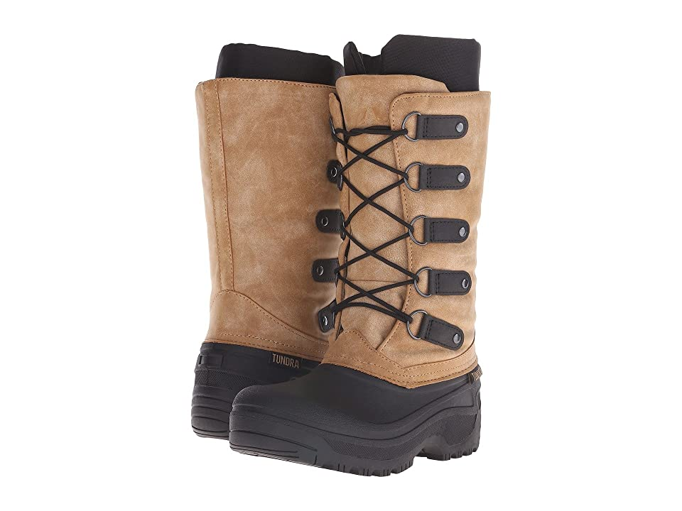 Tundra Boots Tatiana (Black/Tan) Women