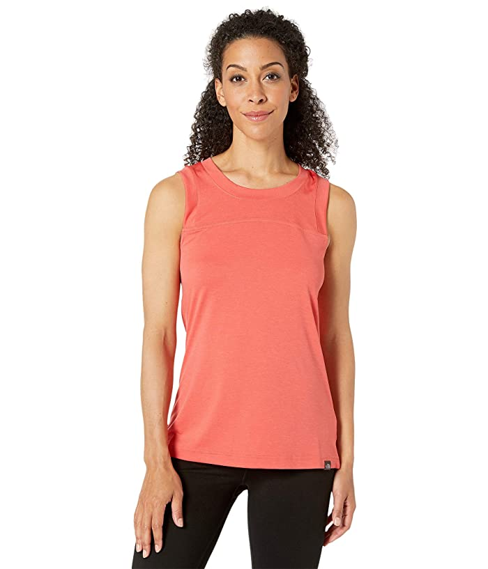 The North Face HyperLayer FD Tank Top (Spiced Coral Heather) Women