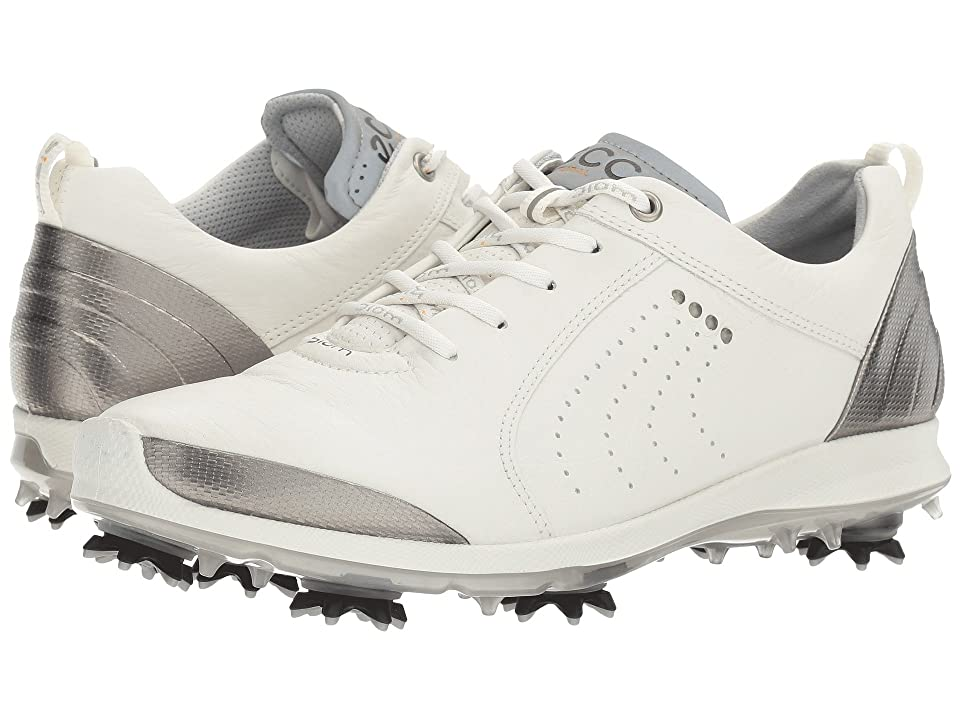 ECCO Golf BIOM G 2 Free (White/Buffed Silver) Women