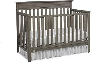 Fisher-Price Newbury 4-in-1 Convertible Crib, Vintage Grey