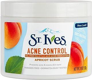 St. Ives Acne Control Face Scrub, Apricot, 10 oz
