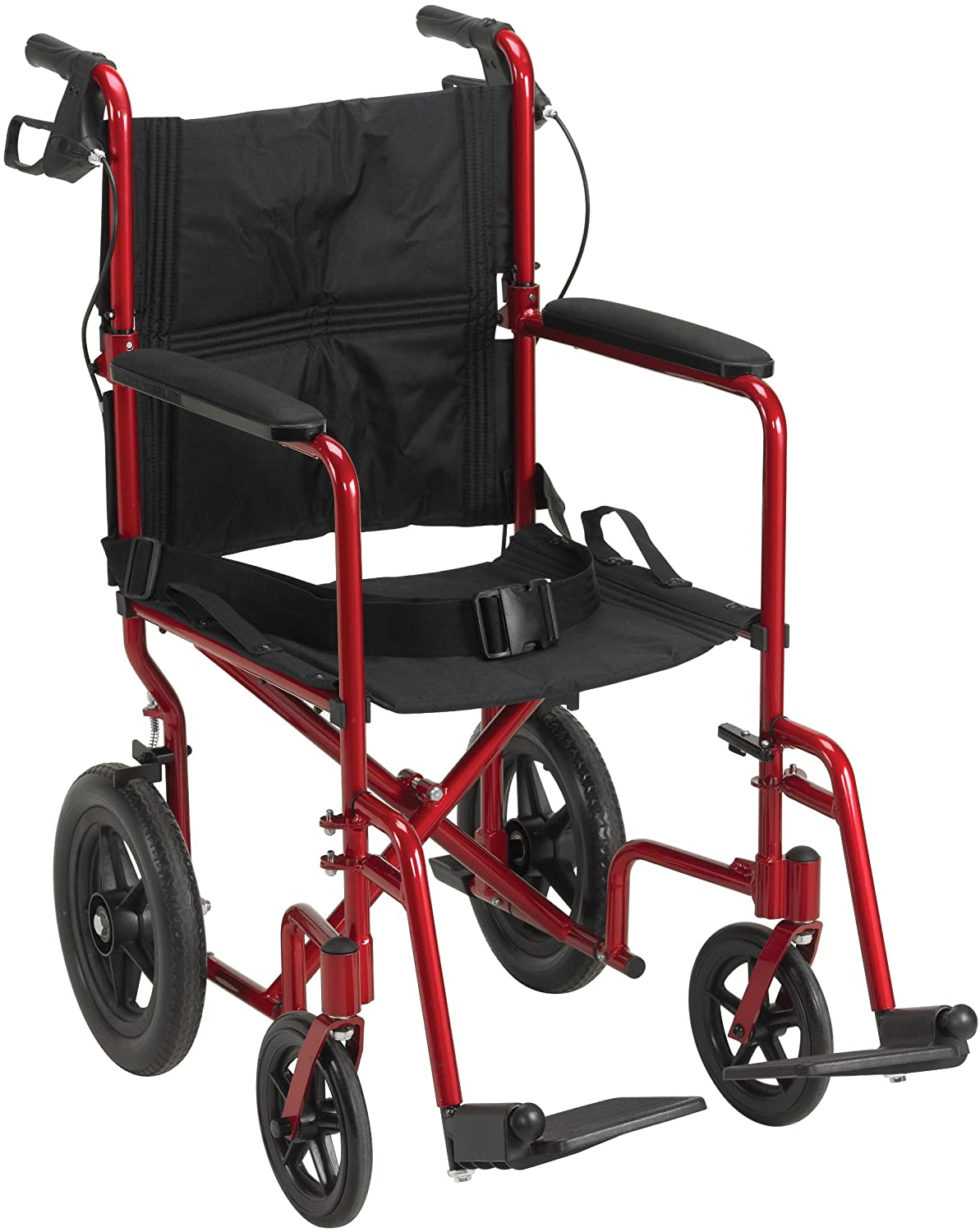 Drive Medical Lightweight Expedition Transport Wheelchair
