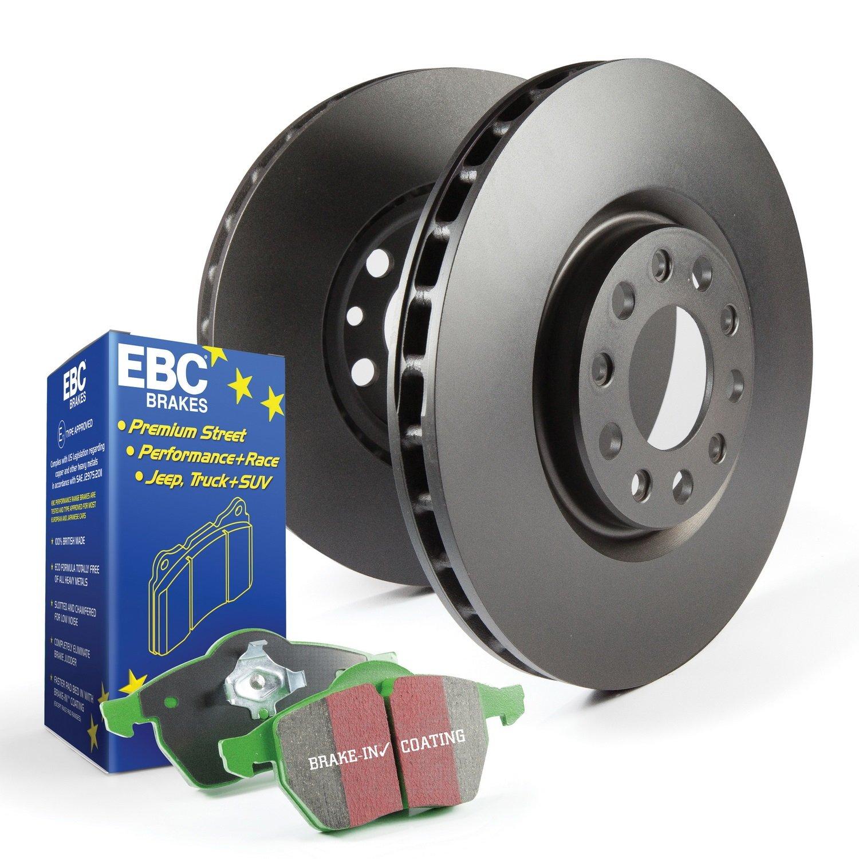 EBC Brakes DP71657 EBC 7000 Series Greenstuff Low Dust Truck//SUV Brake Pads