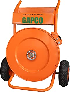GAPCO T-200 Transformer Deluxe Steel/Poly Heavy Duty Strapping/Banding Cart/Dispenser up to 2