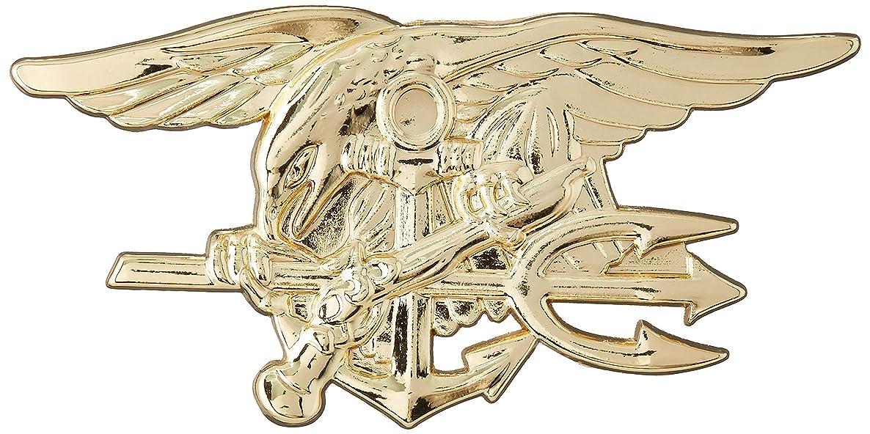 EagleEmblems P16175 Pin-Usn,Seal Team,Tri,Gld (2.25'')