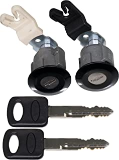 APDTY 140060 Door Lock Cylinder Set With New Keys