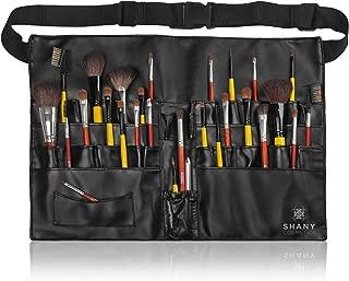 SHANY Cosmetics Professional Vinyl Makeup Apron with Makeup Artist Brush Belt, Light Weight, 8 Ounce