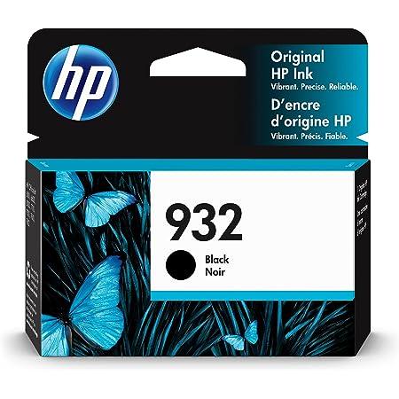HP 932 | Ink Cartridge | Black | Works with HP OfficeJet 6100, 6600, 6700, 7110, 7510, 7600 Series | CN057AN