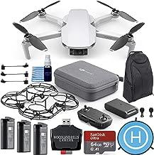 $669 » DJI Mavic Mini Fly More Combo Portable Drone 64gb Ultimate Travel Bundle Kit